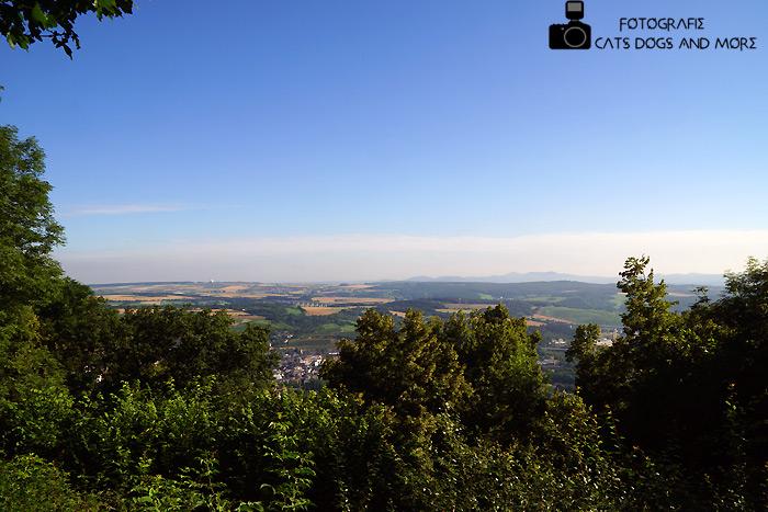 Blick vom Neuenahrer Turm (mit Kraftfahrzeugen nicht erreichbar)