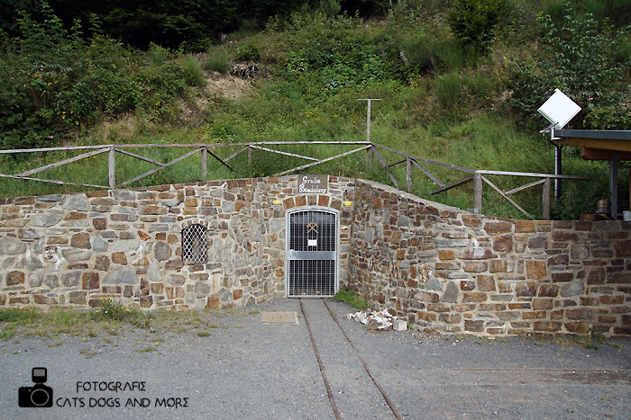 Eingang in der Erzbergwerk