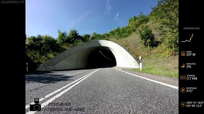 Tunnel zwischen Altenahr und Kreuzberg
