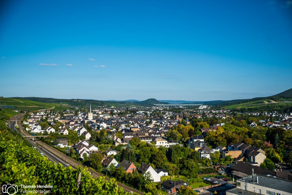 Blick auf Bad Neuenahr-Ahrweiler (Foto: www.thomashendele.de)