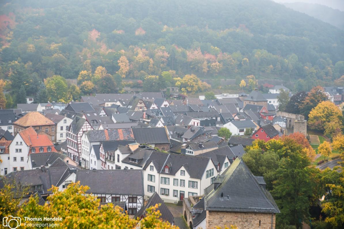 Nebel über Bad Münstereifel (Foto: www.thomashendele.de)