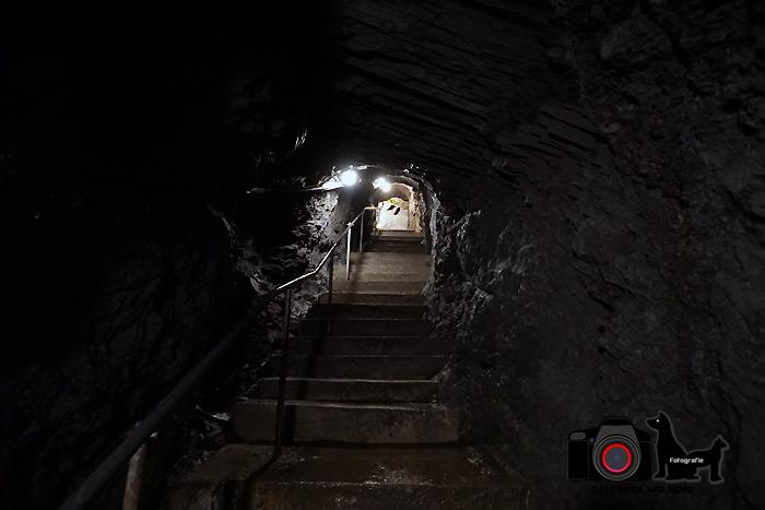 Treppe zwischen Grube Hoffnung und Barbara