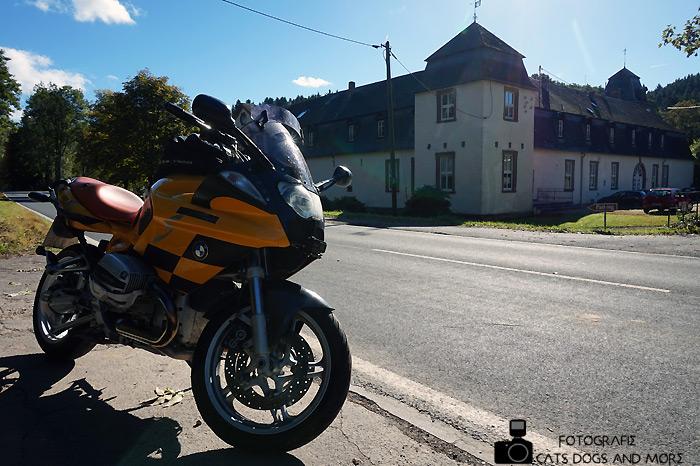Schloß Ahrental im Harbachtal