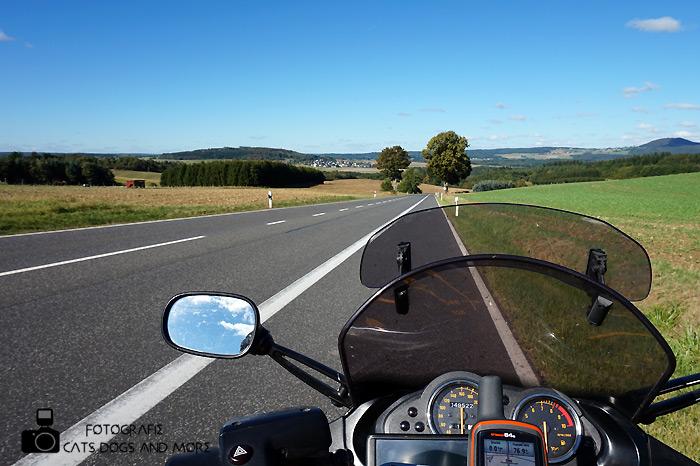 Kurz hinter Barweiler in Richtung Müsch