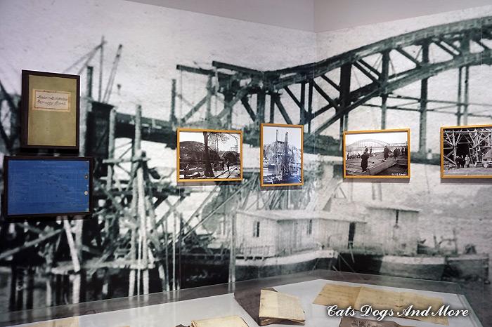 """Innerhalb des Friedensmuseums """"Brücke von Remagen"""""""