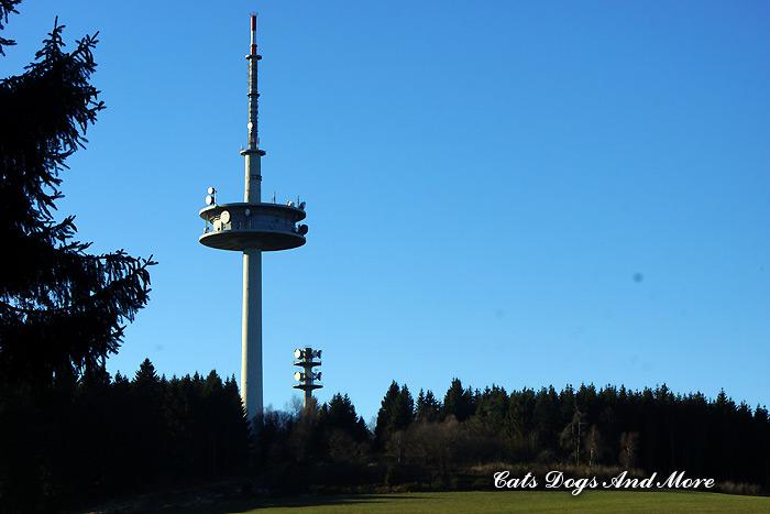 Signalturm bei Cassel