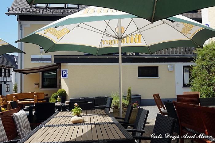 Hotel Hüllen - Aussengastronomie
