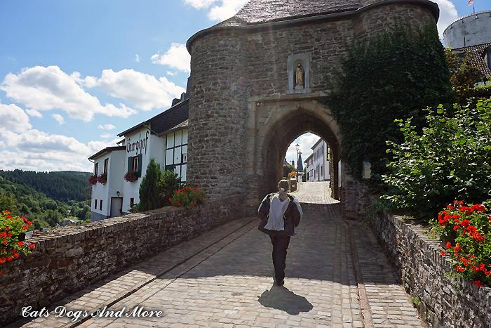 Eingang (Burg) Reifferscheid