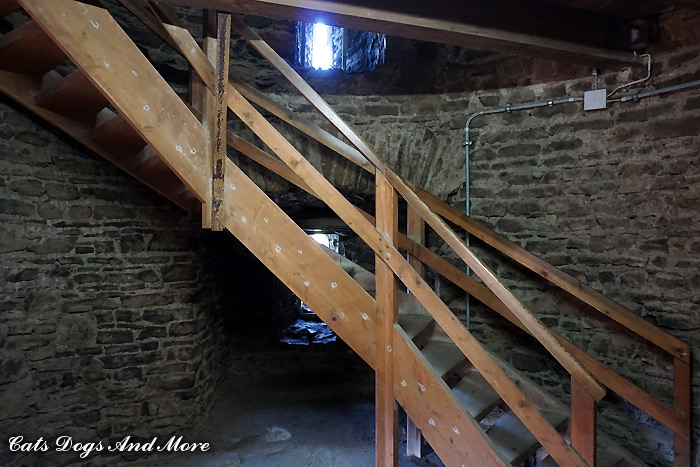 Treppenaufgang Bergfried