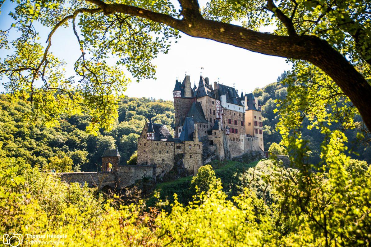 Blick auf Burg Eltz (Foto: www.thomashendele.de)