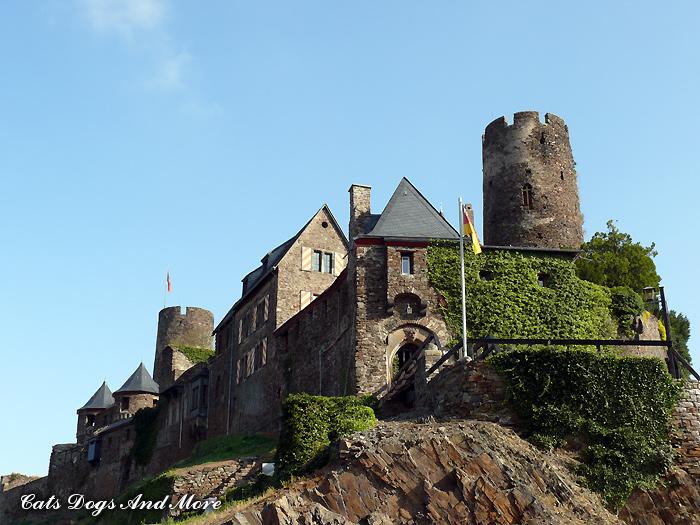 Burg Thurant - Bild von einem früheren Ausflug dorthin