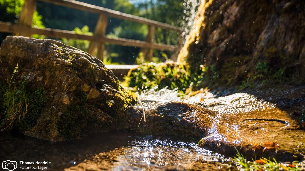 Wasserfall von Dreimühlen (Foto: www.thomashendele.de)