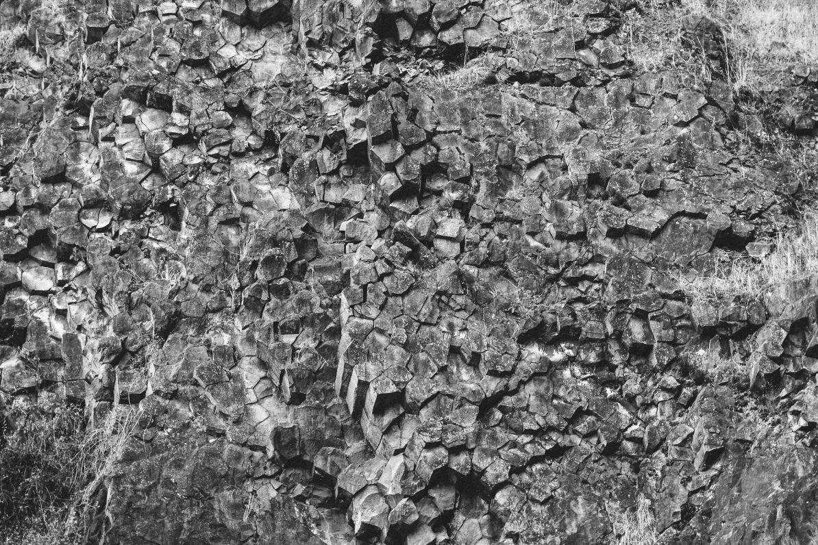 Basaltgestein (Foto: Unsplash)